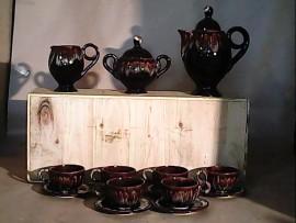 Service à thé Vallauris