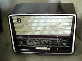 Radio bakélite Philips - OK