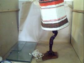 lampe vintage pied de vigne