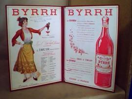 Porte-menu Byrrh