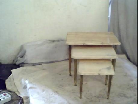 tables  gigognes marbre