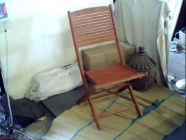 Chaise de jardin bois pliante