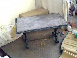 Table basse ext.