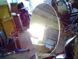 Miroir ovale 90x60