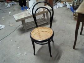 Chaise cannelée