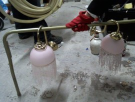 Lot 2 appliques à perles