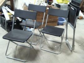Lot 4 chaises pliantes