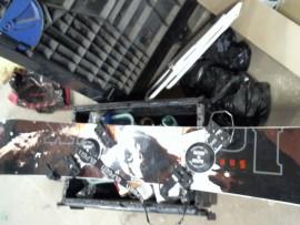 Snowboard assym. goofy