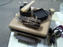 Raclette 8 pers. Tefal + acc. - OK