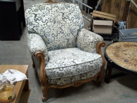 Fauteuil style ancien