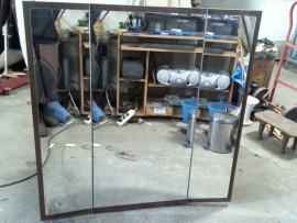Miroir triptyque dépliant
