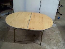 table  pliante  reglable