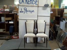 6 chaises de salon