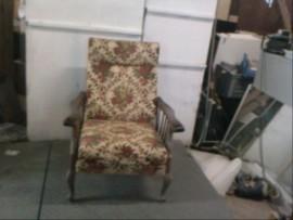 fauteuil  fleuri