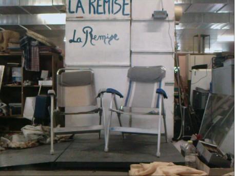lot de chaises de jardin