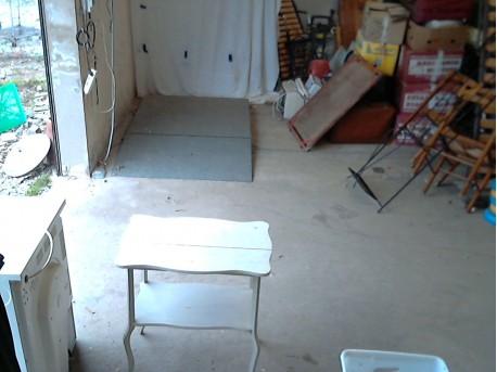 table blanche bois