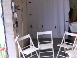chaise  bois jardin