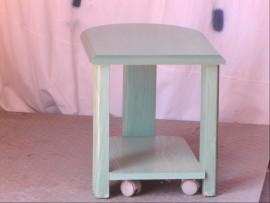 table chevet vert