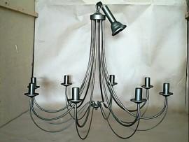 Suspension 8 lampes