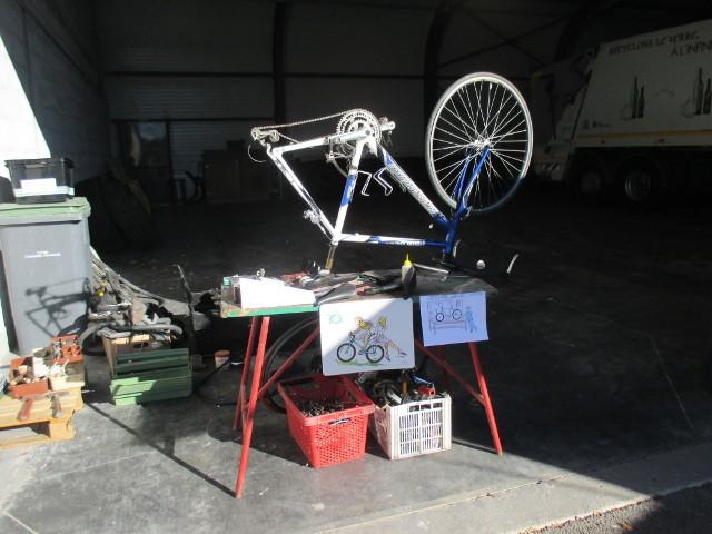 22/11 - Atelier vélo & collecte sur déchèterie