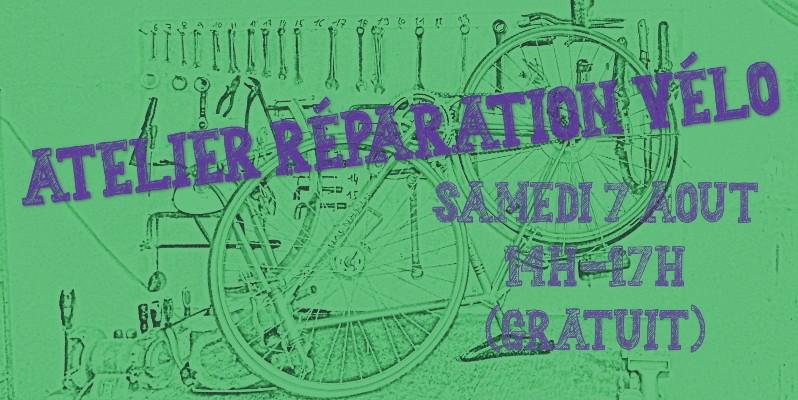 Atelier vélo à la ressourcerie